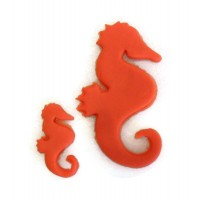 Seahorse cookie cutter set
