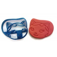 Sheriff Callie face Cookie Cutter