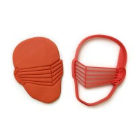 Gijoe Snake Eyes cookie cutter fondant cutter