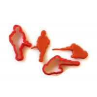 Soldier Fondant Cutter Set