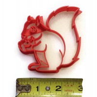 "Squirrel Cookie Cutter 3"" x 3"""