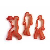 Michael Jackson Thriller Fondant Cutter Set