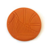 Golden State Warriors NBA Cookie Cutter