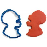 Zombie Profile Cookie Cutter