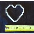 8-Bit Heart Cookie Cutter Fondant Cutter set