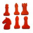 Chess Piece Cookie Cutter Set