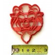 Beauty and the Beast Beast cookie cutter