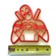 Deadpool Cookie cutter