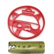 Octonauts Captain Barnacles Kwazii and Peso cookie cutter set