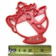 Beauty and the Beast Mrs Potts and Chip cookie cutter fondant cutter set