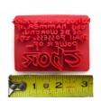 Thor hammer Inscription text stamp for fondant