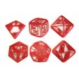 RPG Role Playing Game Polyhedral dice cookie cutter set D4 D6 D8 D10 D12 D20