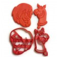 Scooby Doo Scooby and Shaggy cookie cutter set