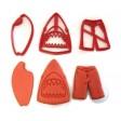 Shark Attack cookie cutter set