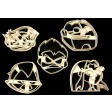 Teen Titans Go Cookie Cutter Set