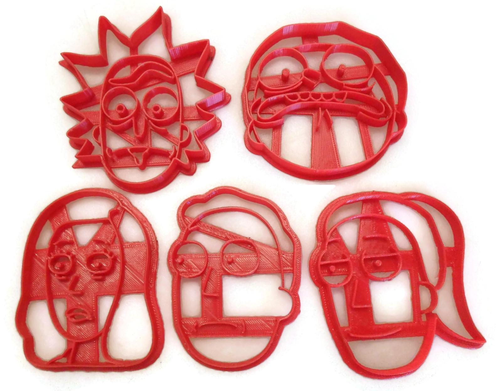 Rick And Morty Family set